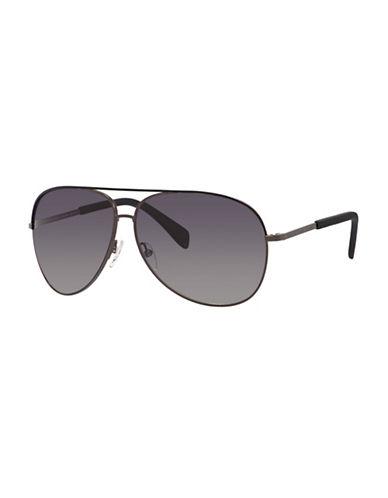Marc Jacobs Classic 59mm Aviator Sunglasses-BLACK-One Size