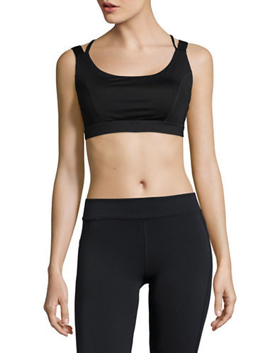 Ivanka Trump Criss Cross Back Sports Bra-BLACK-Small 89372363_BLACK_Small