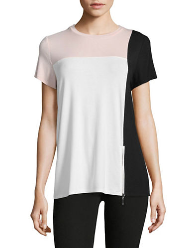 Ivanka Trump Colourblock T-Shirt-IVY/BH/BLK-Small