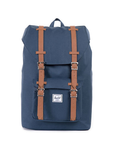 Herschel Supply Co Lil America Mid Solid Backpack-NAVY-One Size