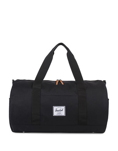 Herschel Supply Co Cylindrical Sutton Duffle Bag-BLACK-One Size