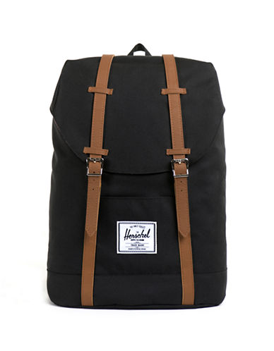 Herschel Supply Co Retreat Backpack-BLACK-One Size