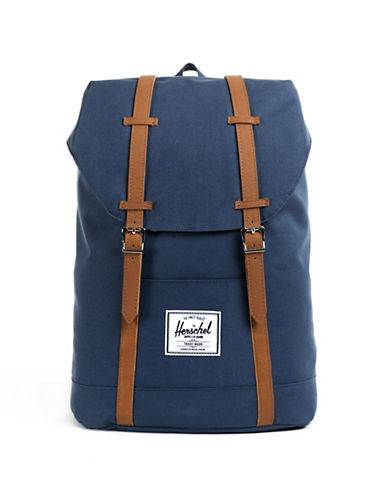 Herschel Supply Co Retreat Tall Backpack-NAVY-One Size