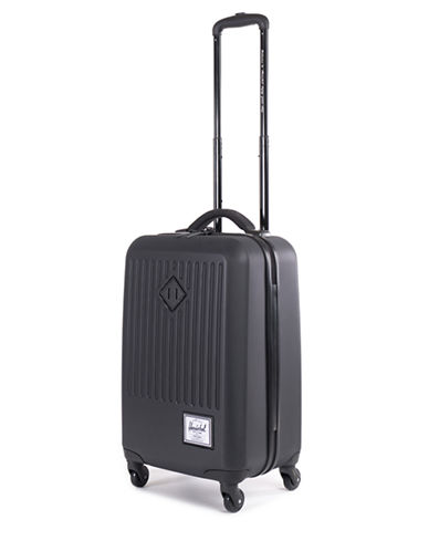 Herschel Supply Co Trade Hard Shell Suitcase-BLACK-24