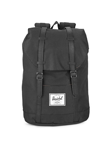 Herschel Supply Co Retreat Camo Block Backpack-BLACK-One Size