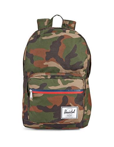 Herschel Supply Co Pop Quiz Solid Backpack-CAMO-One Size