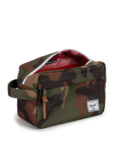 Herschel Supply Co Camo Chapter Travel Kit-CAMO-One Size