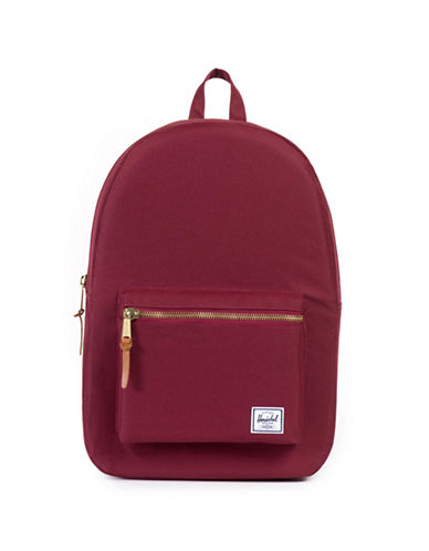 Herschel Supply Co Settlement Wine Red Backpack-WINE-One Size