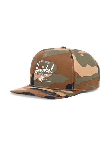 Herschel Supply Co Whaler Cap-CAMO-One Size