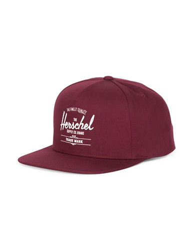 Herschel Supply Co Whaler Cap-WINE-One Size