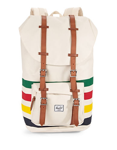 HudsonS Bay Company x Herschel Little America Backpack-MULTI-COLOURED-One Size
