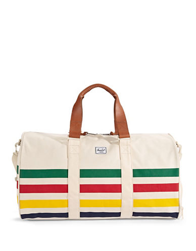 HudsonS Bay Company x Herschel Multistripe Novel Duffle Bag-MULTI-COLOURED-One Size