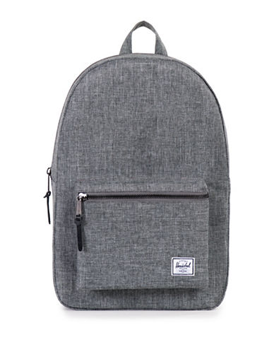 Herschel Supply Co Settlement Crosshatch Backpack-RAVEN-One Size