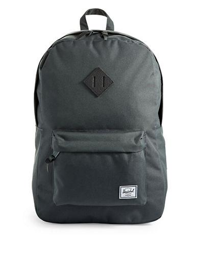 Herschel Supply Co Heritage Dark Shadow Backpack-GREY-One Size