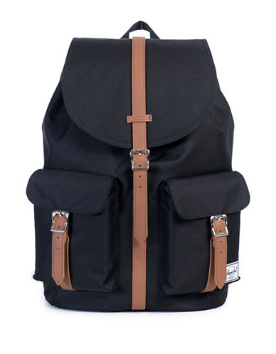 Herschel Supply Co Dawson Strapped Backpack-BLACK-One Size