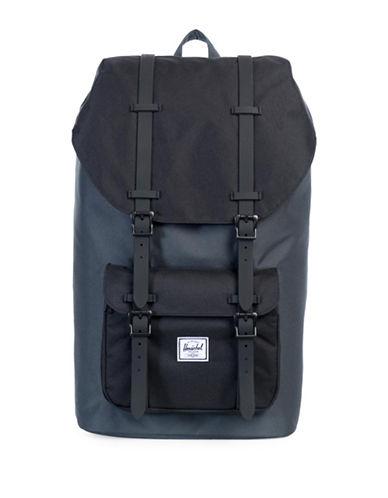 Herschel Supply Co Little America Backpack-DARK SHADE/BLACK-One Size