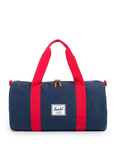 Herschel Supply Co Sutton Duffle Bag-NAVY/RED-One Size