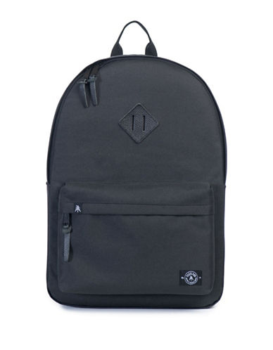 Parkland Meadow 600D Backpack-BLACK-One Size