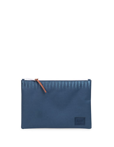 Herschel Supply Co Roswell Network Large Pouch-NAVY GEO-One Size