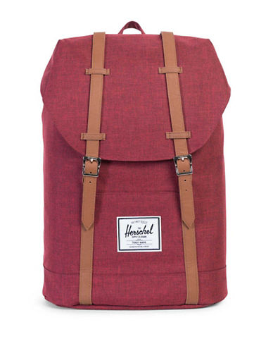 Herschel Supply Co Retreat Backpack-RED-One Size