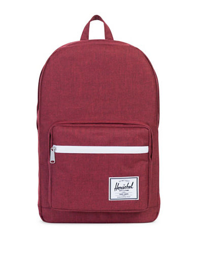 Herschel Supply Co Pop Quiz Crosshatch Backpack-RED-One Size