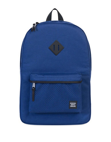 Herschel Supply Co Heritage Aspect Perforated Backpack-TWILIGHT-One Size