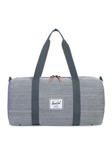 Herschel Supply Co Sutton Textured Duffel Bag-GREY-One Size