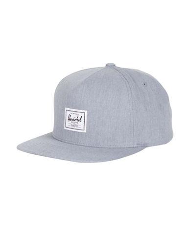 Herschel Supply Co Dean Cotton Snapback Cap-GREY-One Size