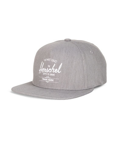 Herschel Supply Co Whaler Heathered Cap-GREY-One Size