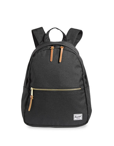 Herschel Supply Co Classic Town Zippered Backpack-BLACK-One Size