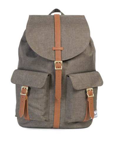 Herschel Supply Co Dawson Cross-Hatch Backpack-GREEN-One Size