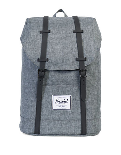 Herschel Supply Co Retreat Textured Backpack-GREY-One Size