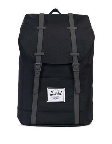Herschel Supply Co Retreat Textured Backpack-DARK GREY-One Size