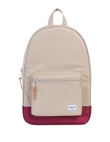 Herschel Supply Co Settlement 600d Poly Backpack-WINE-One Size