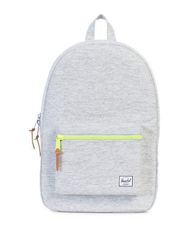 Herschel Supply Co Settlement 600D Backpack-LIGHT GREY-One Size
