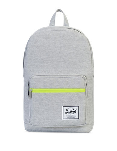 Herschel Supply Co Pop Quiz Textured Backpack-LIGHT GREY-One Size