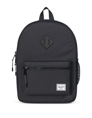 Herschel Supply Co Heritage Youth Backpack-BLACK-0