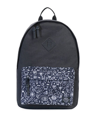 Parkland The Meadow Backpack-BLACK-One Size