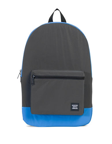 Herschel Supply Co Packable Daypack-BLACK/BLUE-One Size