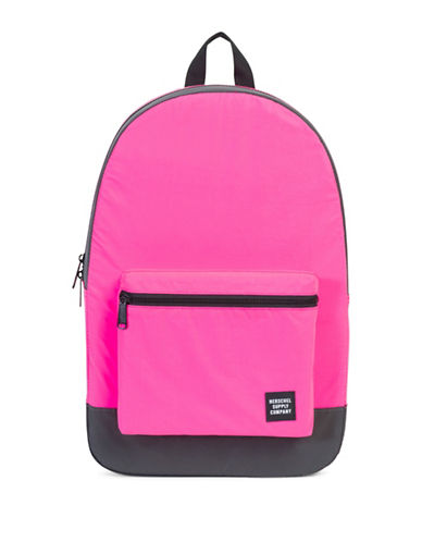 Herschel Supply Co Packable Daypack-PINK/BLACK-One Size