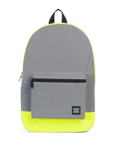 Herschel Supply Co Packable Daypack-SILVER/YELLOW-One Size