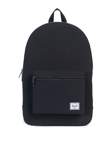 Herschel Supply Co Washed Cotton Casuals Daypack-BLACK-One Size