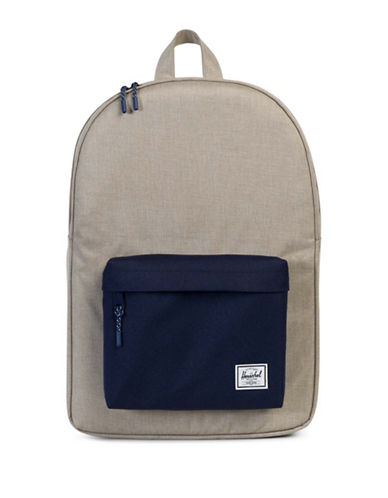 Herschel Supply Co Classic Backpack-BEIGE-One Size