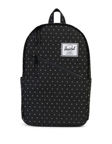 Herschel Supply Co Parker Slim Geometric-Print Backpack-BLACK-One Size