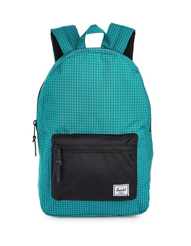 Herschel Supply Co Ocean Depths Grid Backpack-BLUE-One Size