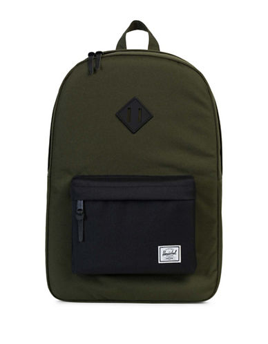 Herschel Supply Co Heritage Backpack-GREEN-One Size