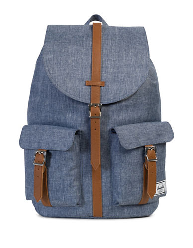 Herschel Supply Co Dawson Cross-Hatch Backpack-BLUE-One Size
