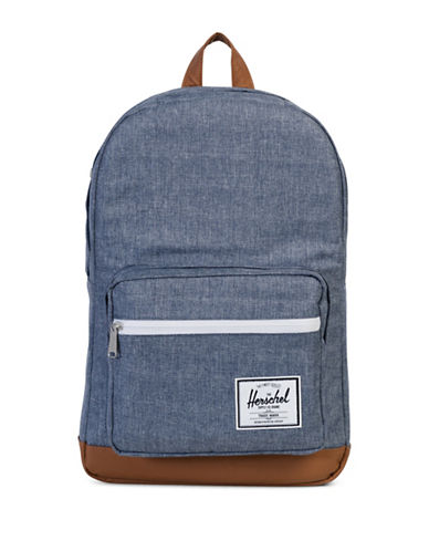 Herschel Supply Co Popquiz Cross-Hatch Backpack-BLUE-One Size