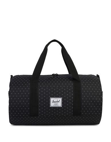 Herschel Supply Co Sutton Gridlock Duffel Bag-BLACK-One Size