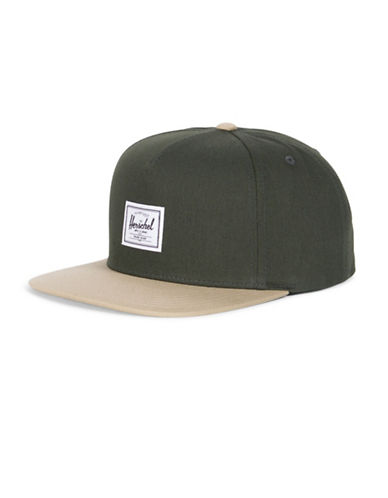 Herschel Supply Co Dean Snapback Baseball Cap-GREEN-One Size